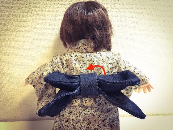 ぽぽちゃん服着物作り方9
