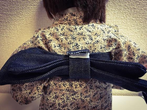 ぽぽちゃん服着物作り方7