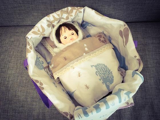 ぽぽちゃんメルちゃんベッドの布団