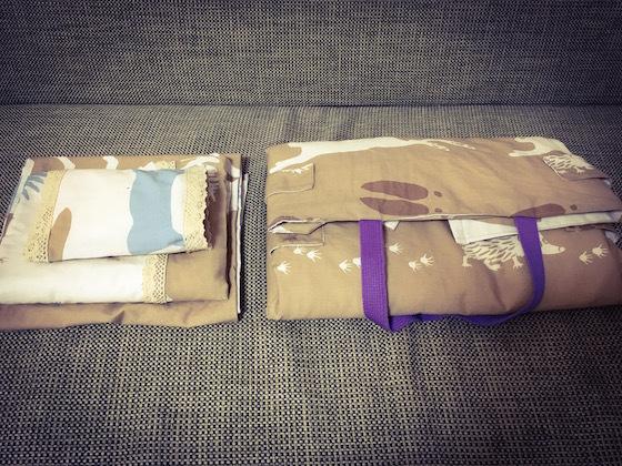 ぽぽちゃんメルちゃんベッドの布団2