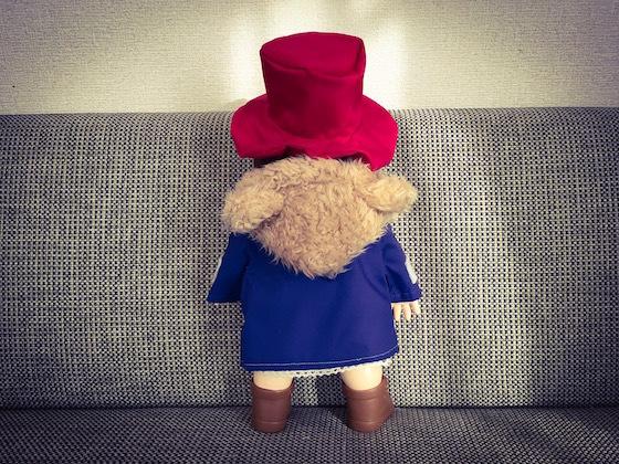 ぽぽちゃん服パディントン帽子2