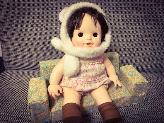 ぽぽちゃんやメルちゃんのおもちゃ家具ソファ