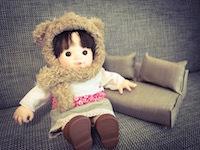 ぽぽちゃんやメルちゃんのおもちゃ家具ソファ2